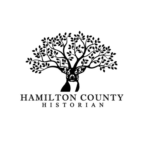 Bold logo for Hamilton County Historian