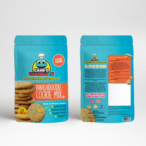 Fun concept for cookie mix
