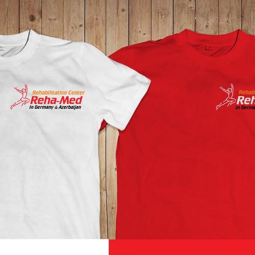 Recreation of Reha Med logo