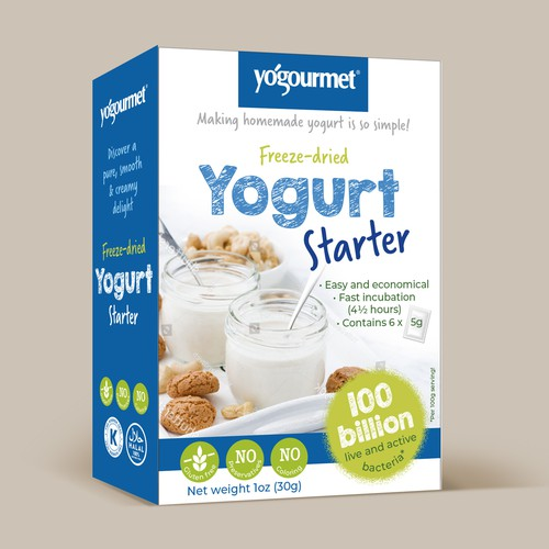 YOGOURMET YOGURT starter