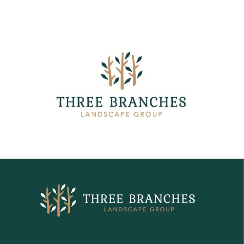 Logo for landscape group