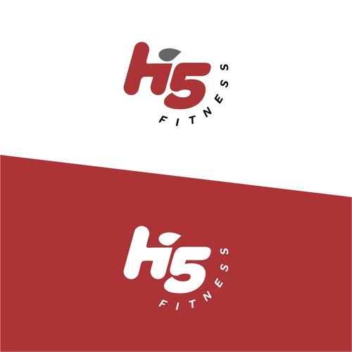 Hi 5 Fitness Logo Concept