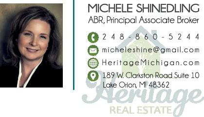 Heritage Realtors Business Card & For Sale Sign