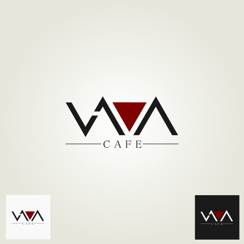 Logo Design for Lava Cafe