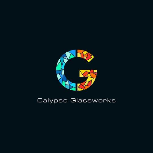 Logo concept for Calypso Glassworks