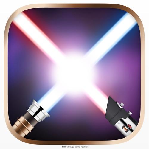iPhone Lightsaber app