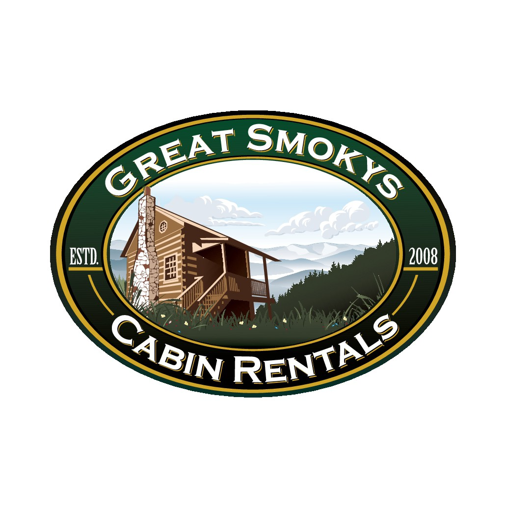 Design a logo for our cabin rental company in the Smoky Mountains