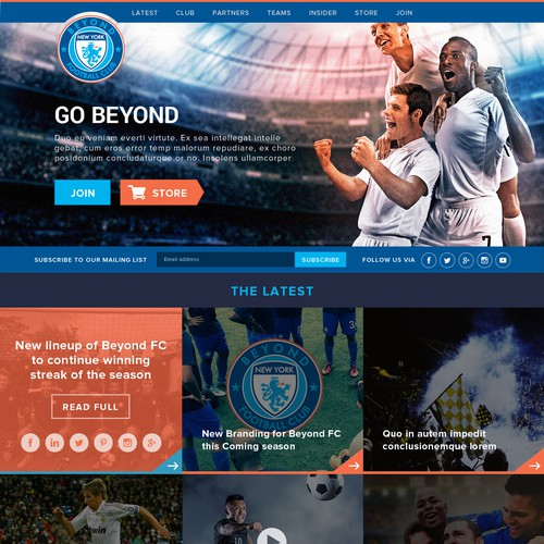 Beyond FC: A NYC based soccer club