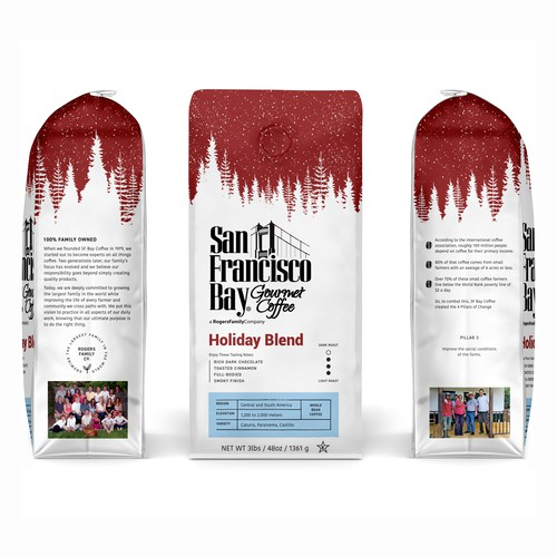Coffee Packaging Design (Special Holiday Edition)