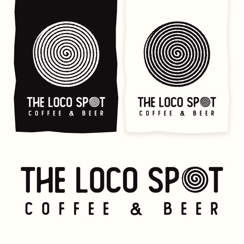 The Loco Spot Logo Identity and Logotype