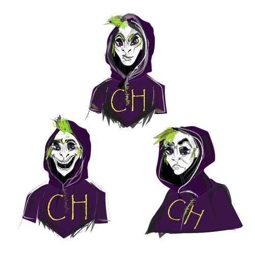 Evil character Chaos