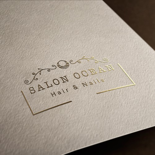 "Logo concept for ""Salon Ocean"""