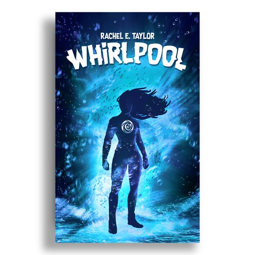 Superhero book cover