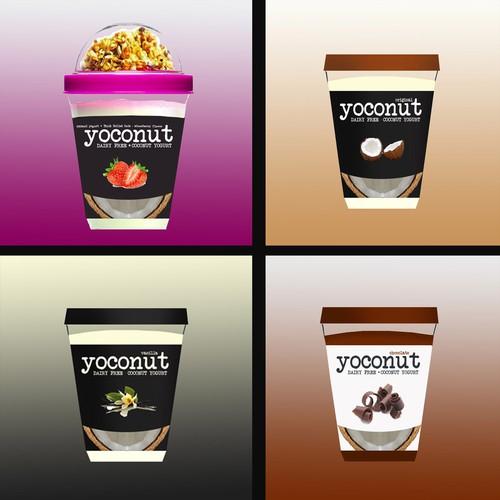 Label for Yoconut