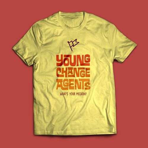 T-shirt for Young Change Agents
