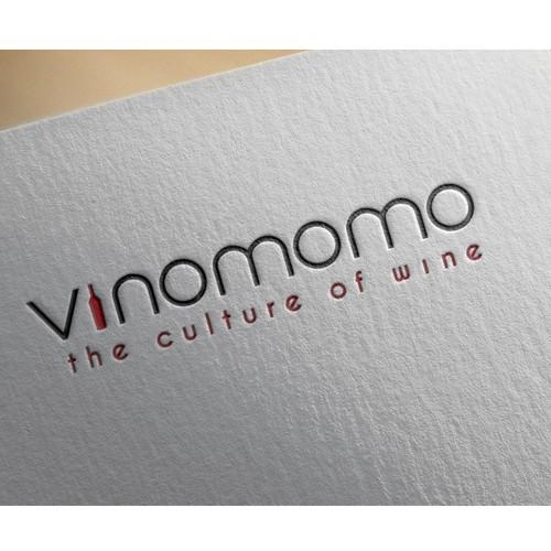 Minimalistic Logo for Wine Blog