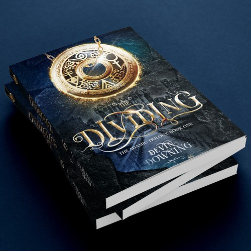 Book cover for a young adult fantasy novel