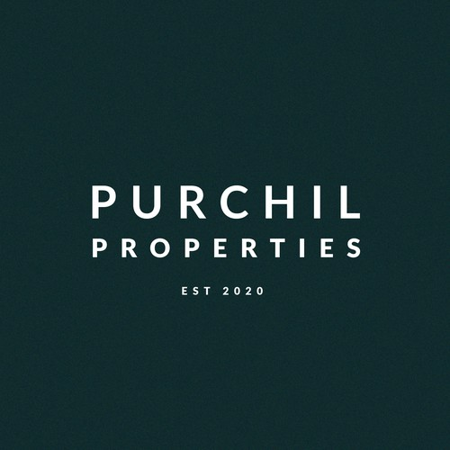 Clean Logo for Luxury Estate Agent
