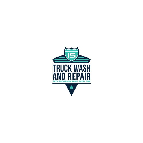 Logo Design for Truck Wash