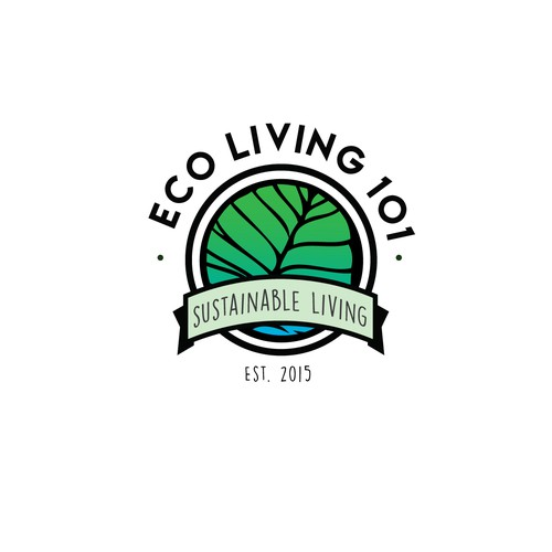 Sustainable Living Logo Design