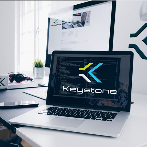 Logo for a software product Keystone