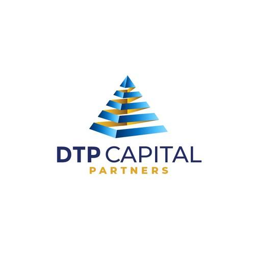 Modern logo concept for DPT Capital Partners.