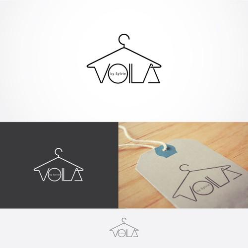 Créer une illustration de mode simple et dans les codes du luxe pour VOILA