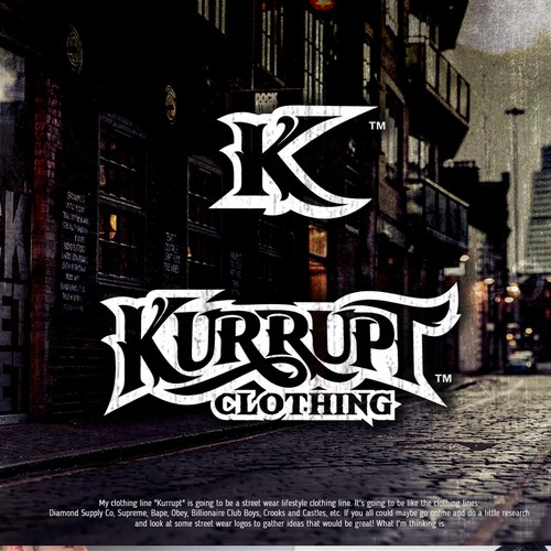 KURRUPT  Clothing logo