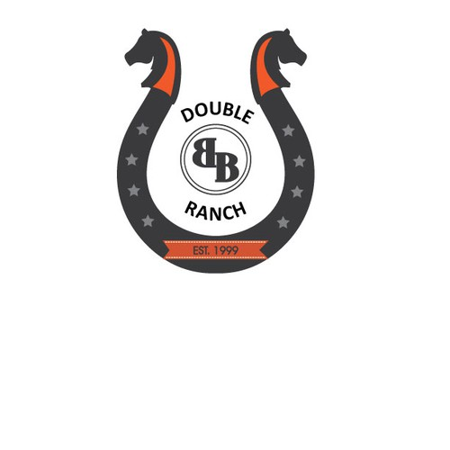 Create the next logo for Double B Ranch