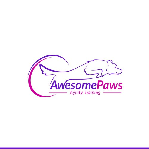Awesome Paws Agility Training logo