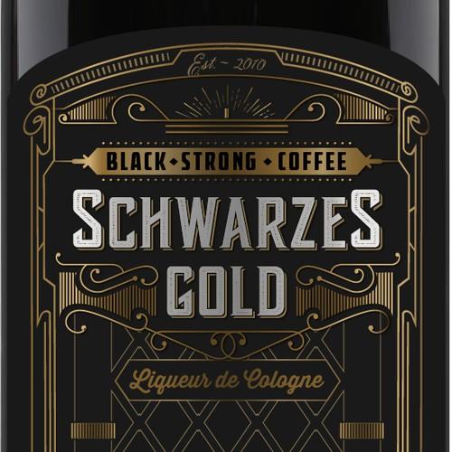 """SCHWARZES GOLD - """"Liqueur de Cologne"""""""