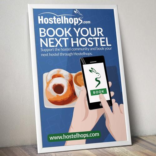 Hostelhops.com Poster