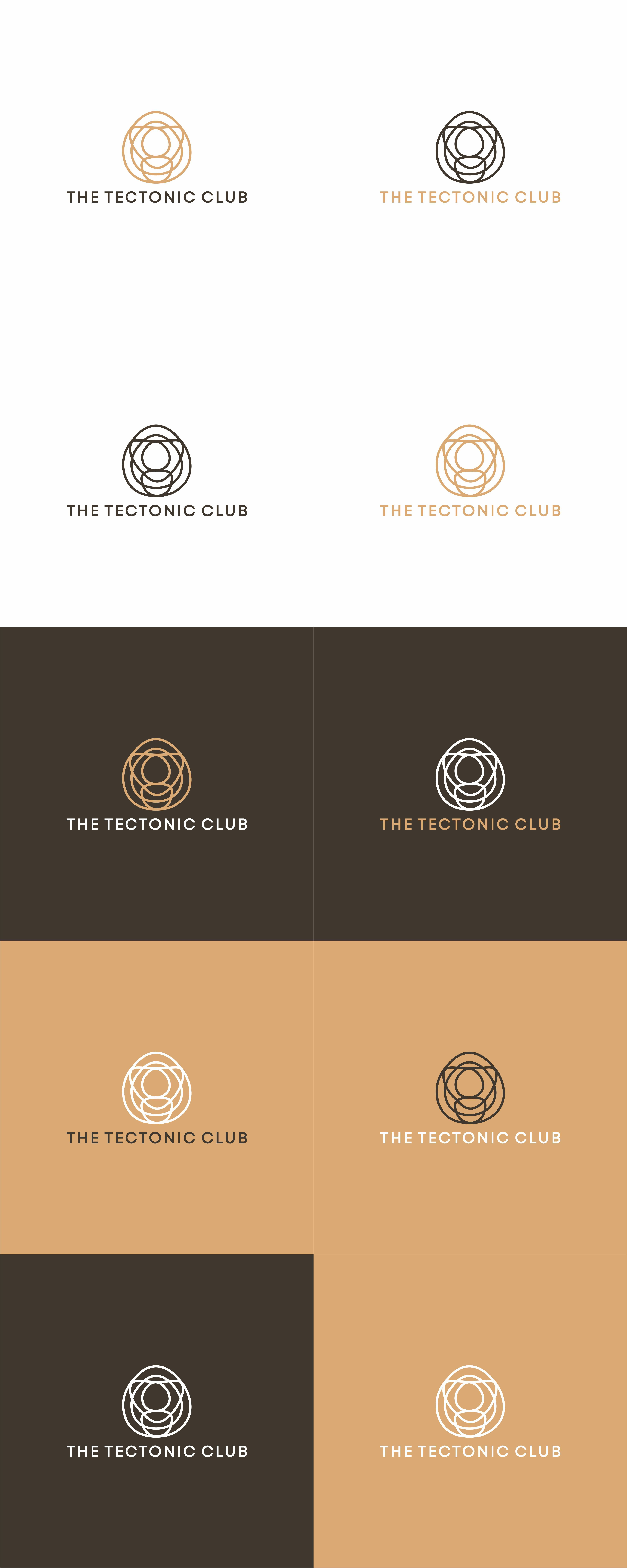 Design a logo for the Tectonic Club