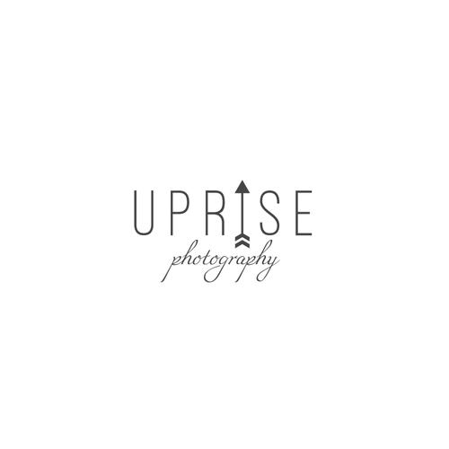 """Logo design for """"Uprise phoyography"""""""