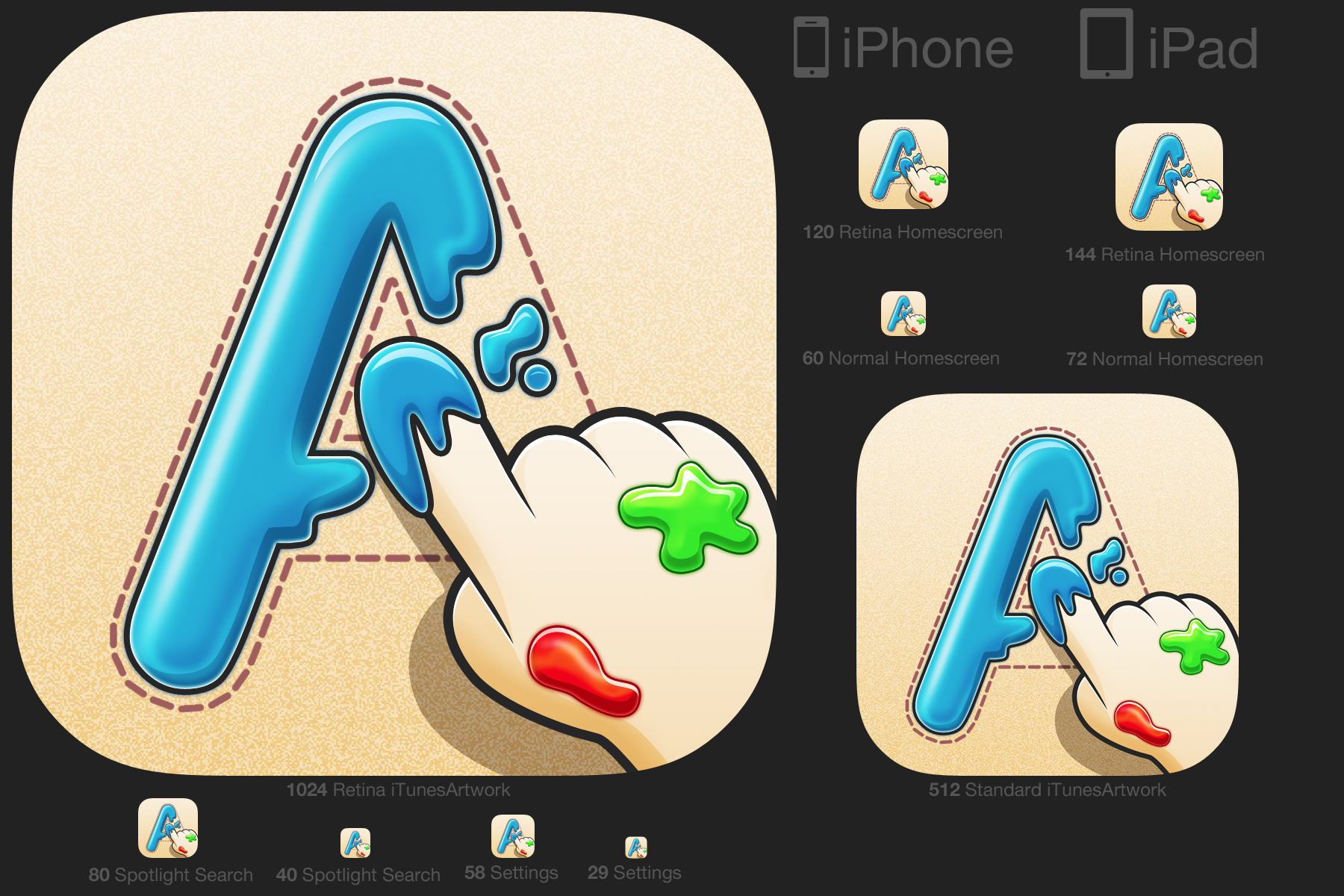 Create an icon for an APP that helps kids - Serious Game Iniciative