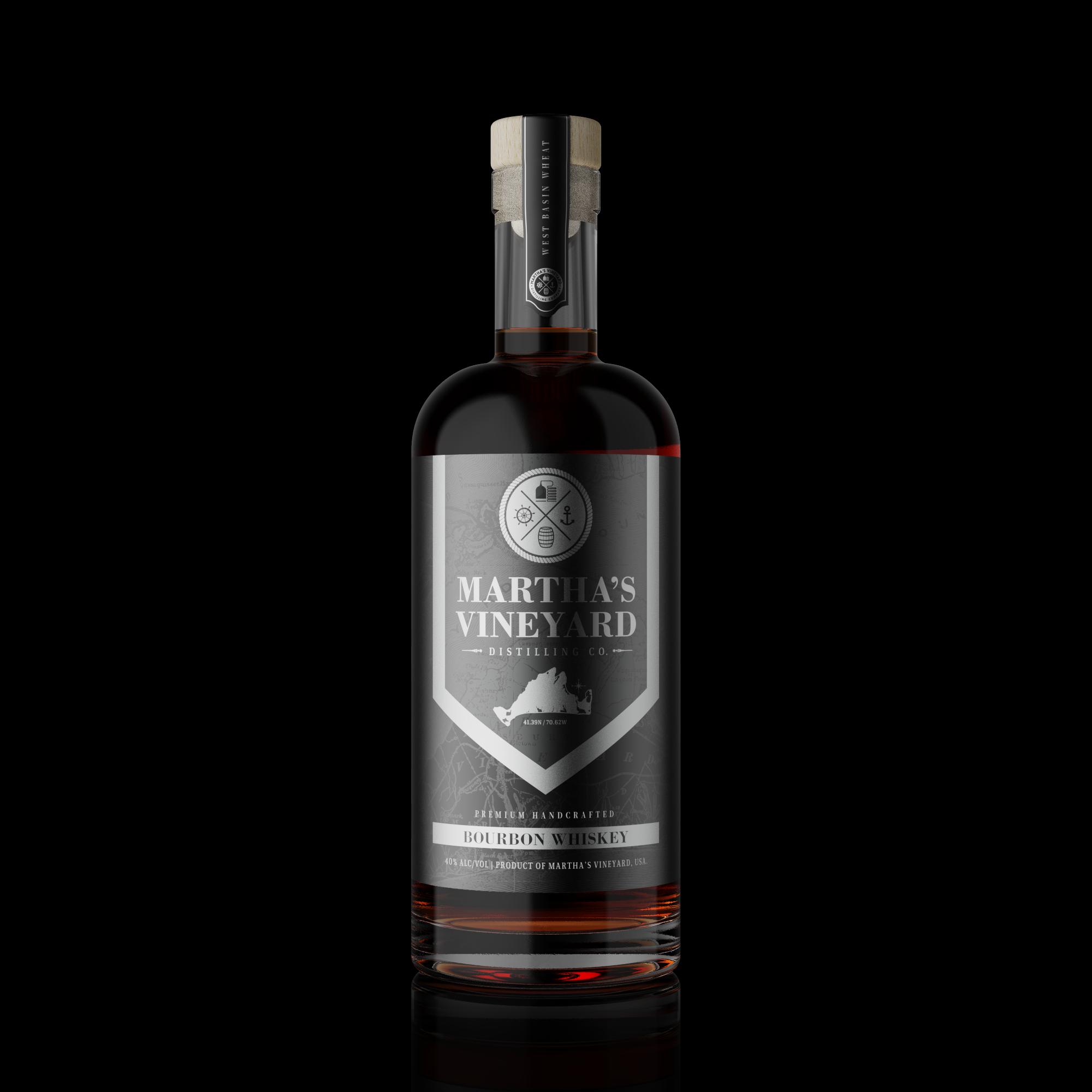 New bourbon bottle label