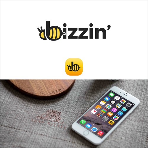Modern fun Logo & Icon for Bizzin'