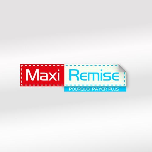 Logo maxi remise