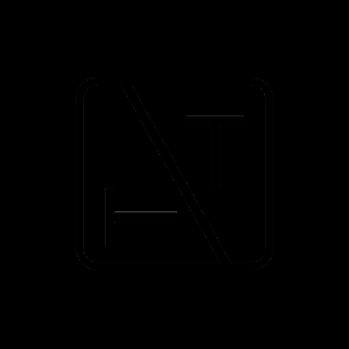 """The """"Tilted T"""" Logo/Font design"""