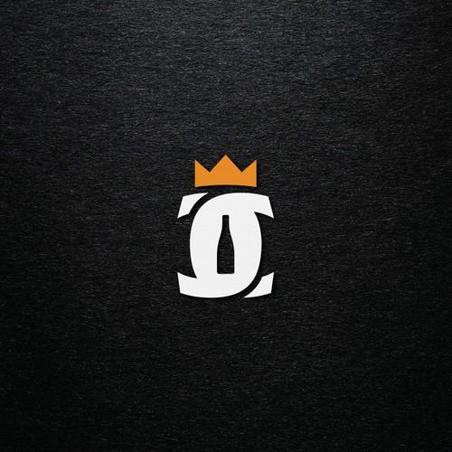 CC monogram logo for a wine company