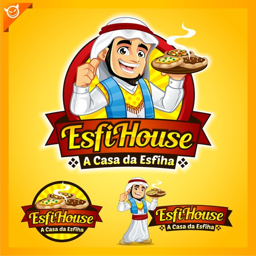 EsfiHouse LOGO for Restaurant at middle east