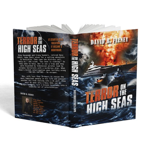 Create a thrilling cover for novel.