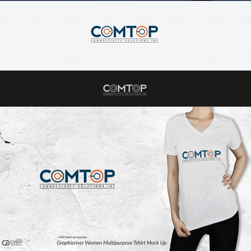 Comtop Tech Logo Design