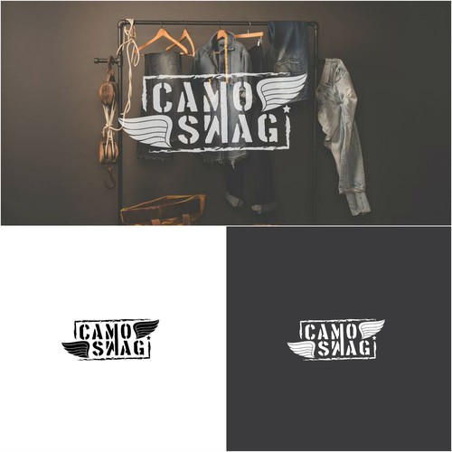 RUSTIC LOGO CONCEPT FOR APPAREL