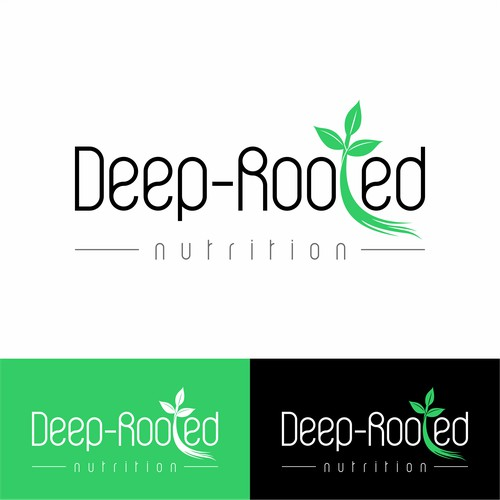 Deep-Rooted Nutrition Logo concept