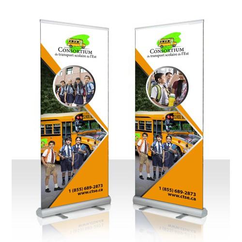 Promotional Kiosk Banner