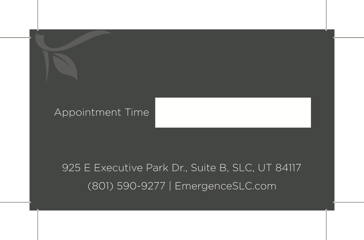 Business Card for new Employee