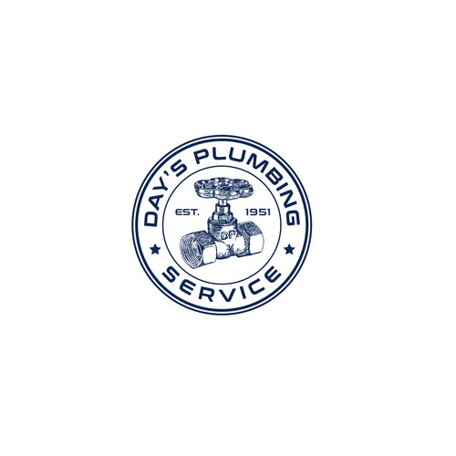 Logo for plumbing sevice