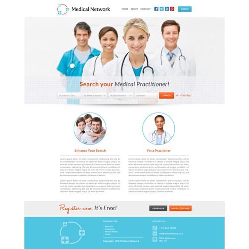 Website & Logo for MedicalNetwork.co.za