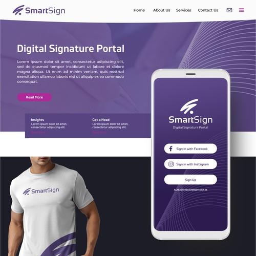 Logo Design For Digital Signature Portal